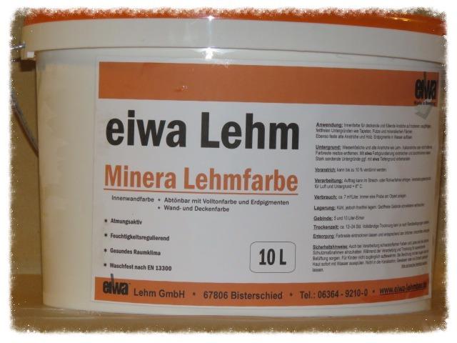 Eiwa Lehm eiwa minera lehmfarbe - lehm expo